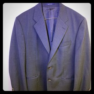 Chaps Ralph Lauren 2 pc Blazer and Pants 42r 34/30